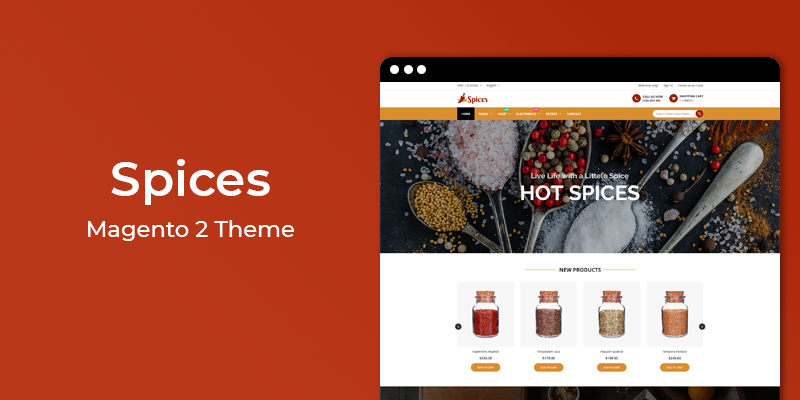 Coming Soon New Magento 2 Theme | Magento 2 Templates | HiddenTechies