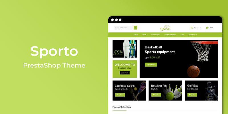 Sporto - MultiPurpose Responsive Prestashop Theme