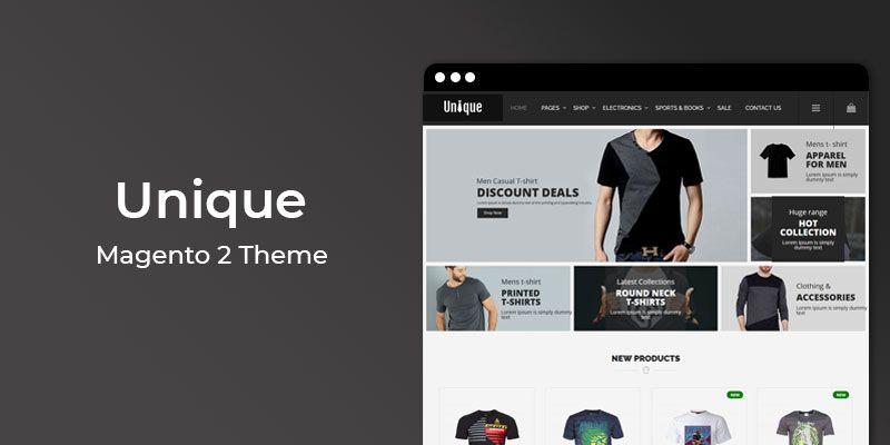 Unique – Multipurpose Responsive Magento 2 Theme