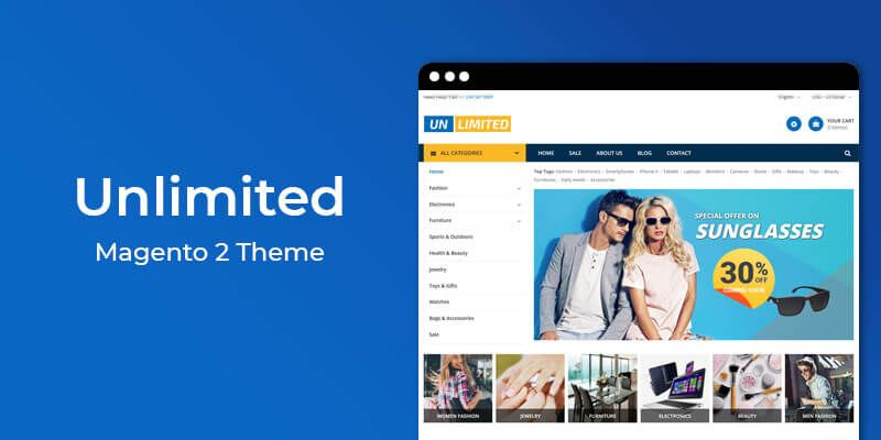 Unlimited - Responsive Magento 2 Theme