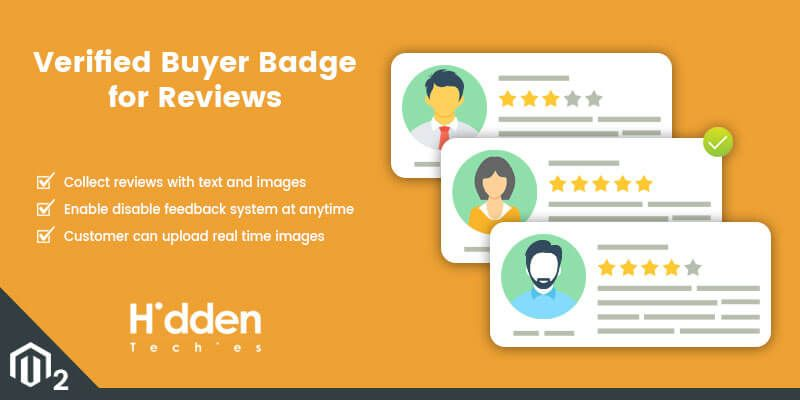 Verified Buyer Badge for Reviews - Magento 2 Extension