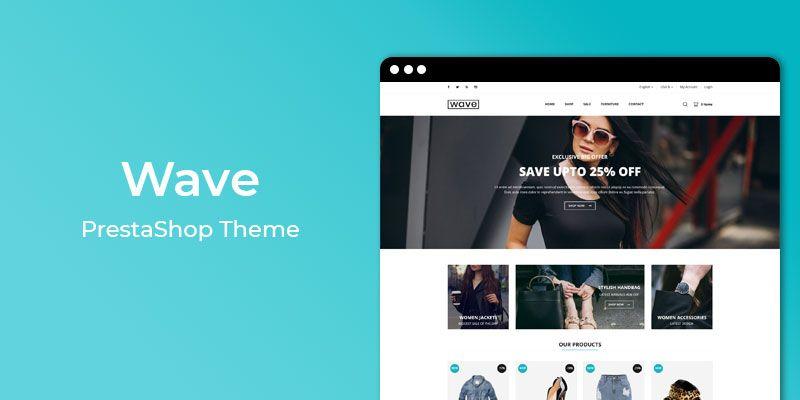 Wave - Fashion Responsive Prestashop Theme