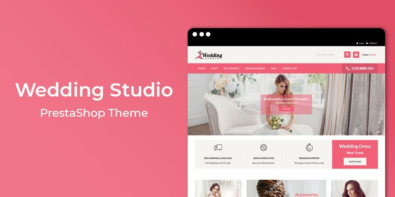 Wedding Studio - MultiPurpose Responsive Prestashop Theme