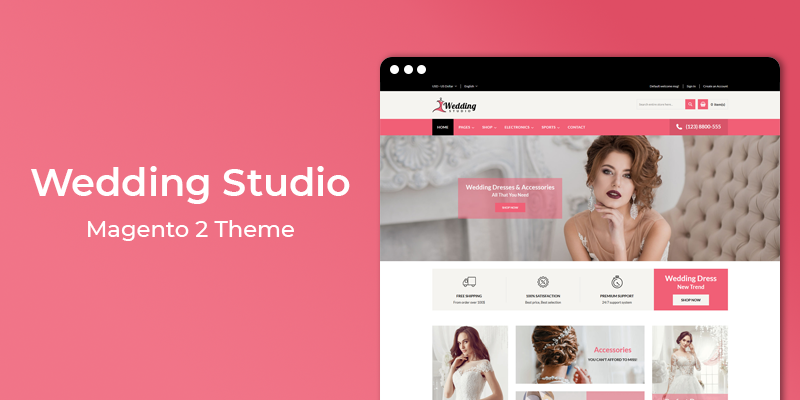 Wedding Studio - MultiPurpose Responsive Magento 2 Theme