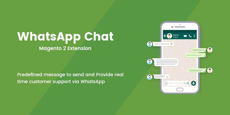 WhatsApp Chat - Magento 2 Extension