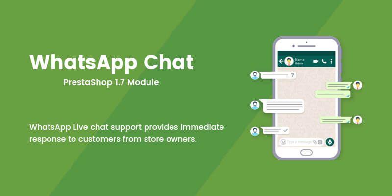 WhatsApp Chat - Prestashop Module