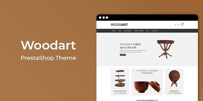 Woodart - Responsive Furniture Prestashop Theme