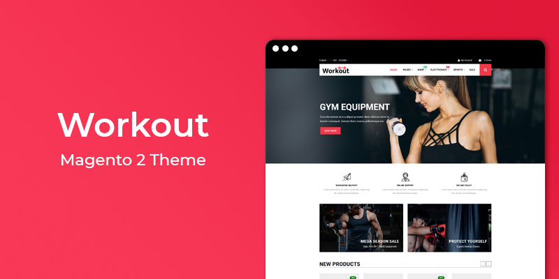 Workout - Gym & Sport Magento 2 Theme