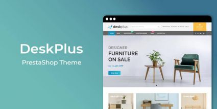DeskPlus - MultiPurpose Responsive Prestashop Theme