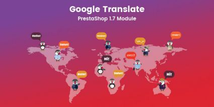 Google Translate - Prestashop Module