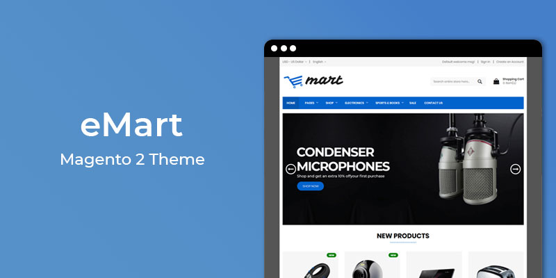 Emart - Responsive Electronics Theme for Magento® 2
