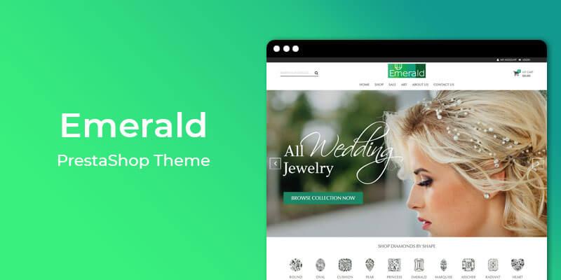 Emerald - Jewelry Store Responsive Prestashop Theme