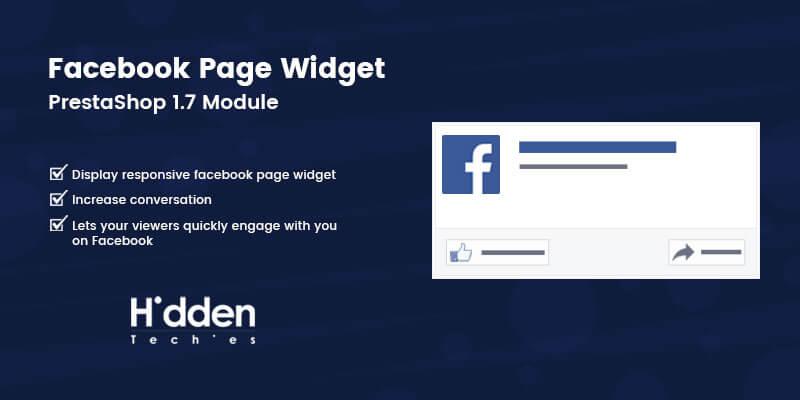 Facebook Page Widget - Prestashop Module