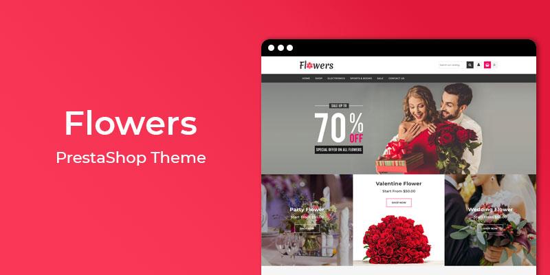 Flowers - MultiPurpose Responsive Prestashop Theme