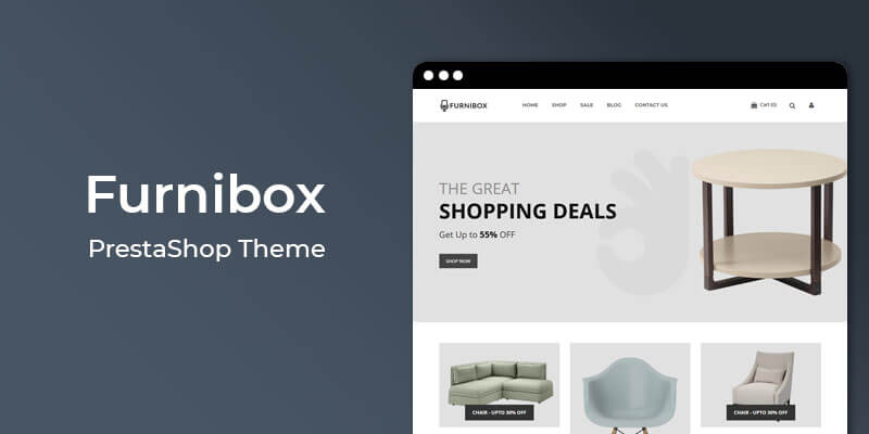 Furnibox - MultiPurpose Responsive Prestashop Theme