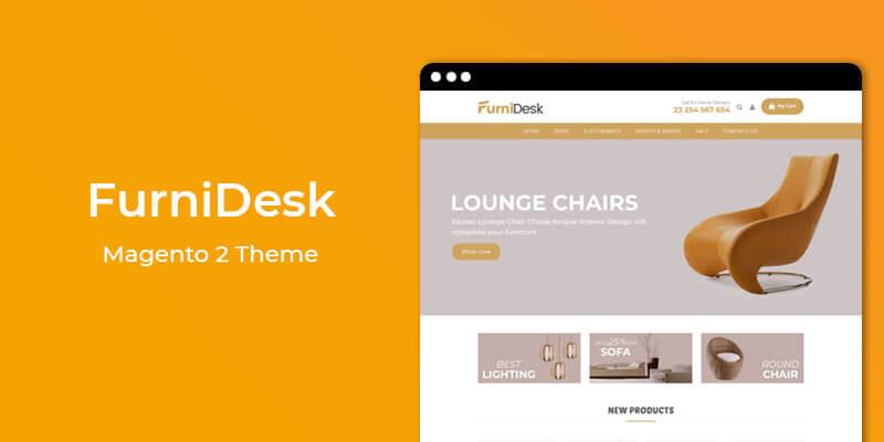 FurniDesk - MultiPurpose Responsive Magento 2 Theme
