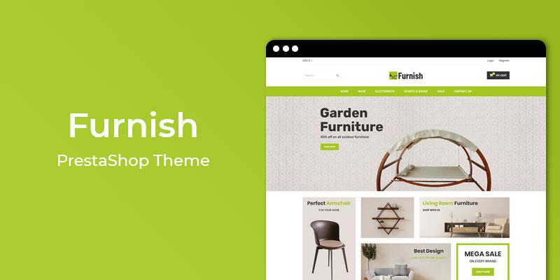 Furnish - Responsive Furniture Prestashop Theme