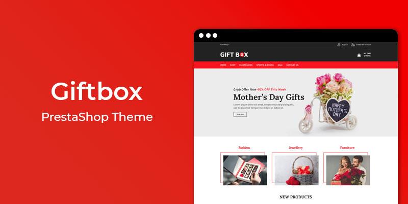 Giftbox  - MultiPurpose Responsive Prestashop Theme
