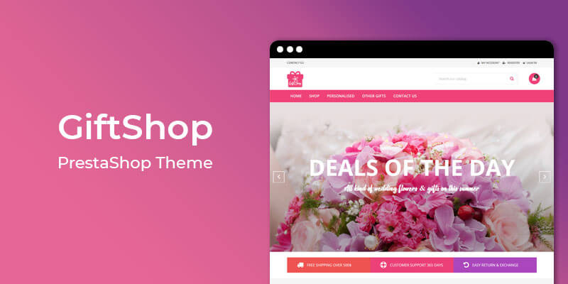 GiftShop - MultiPurpose Responsive Prestashop Theme