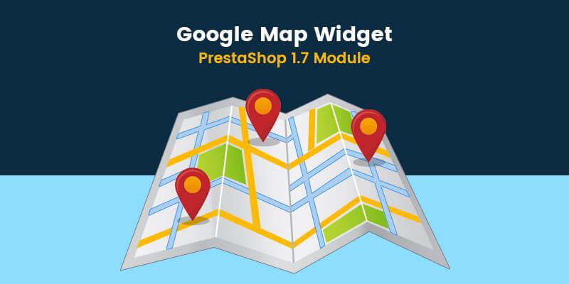 Google Map Widget - Prestashop Module