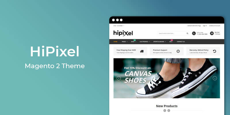 HiPixel - MultiPurpose Responsive Magento 2 Theme