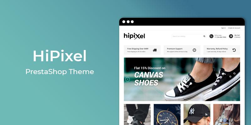 HiPixel - Premium Fashion Responsive Prestashop Theme