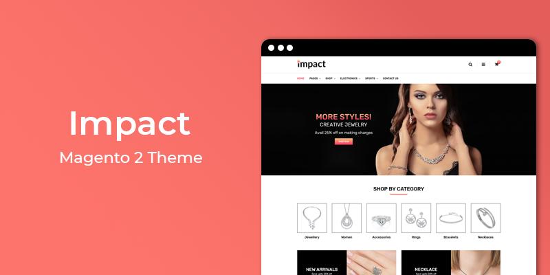 Impact - Jewelry Store Responsive Magento 2 Theme