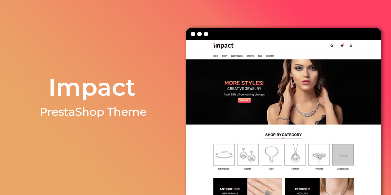 Impact - Jewelry Store Responsive Prestashop Theme