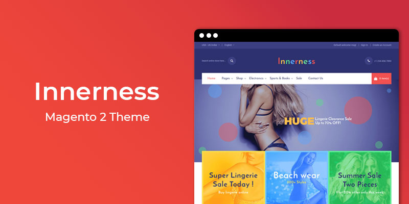 Innerness – Responsive Magento 2 Theme