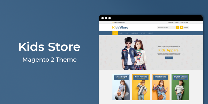 KidsStore - Kids Fashion Responsive Magento 2 Theme