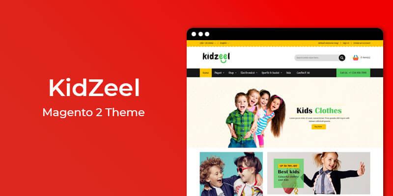 KidZeel - Kids Fashion & Toys Responsive Magento® 2 Theme