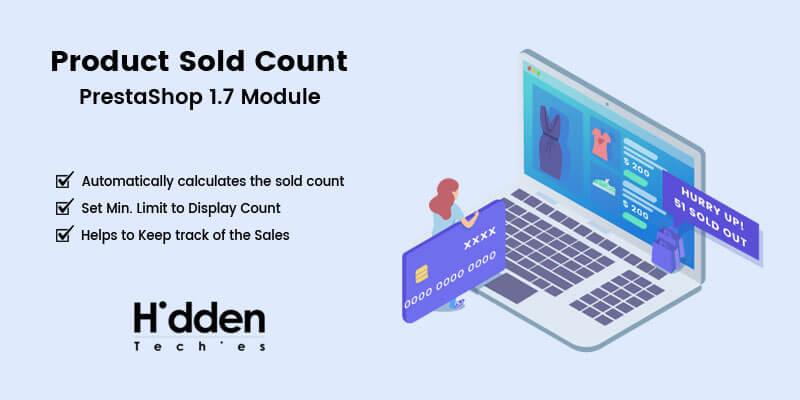 Product Sold Count - Prestashop Module
