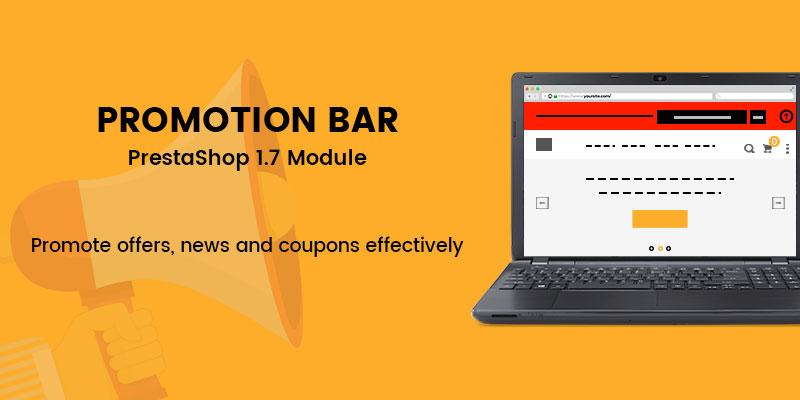 Promotion Bar - Prestashop Module