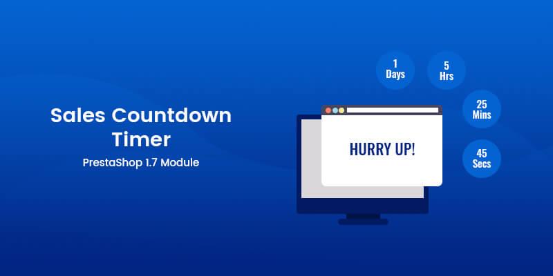 Sales Countdown Timer PrestaShop Module