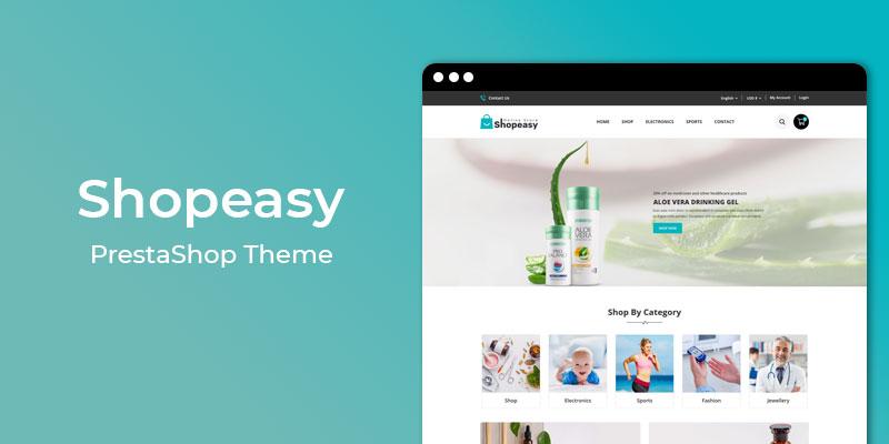 Shopeasy – Multipurpose Responsive PrestaShop Theme