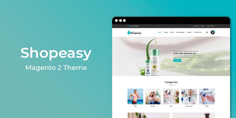 Shopeasy – Multipurpose Responsive Magento 2 Theme