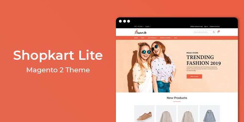 Shopkart Lite - Free Multipurpose Responsive Magento 2 Theme