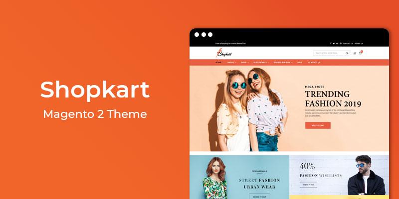Shopkart - MultiPurpose Responsive Magento 2 Theme