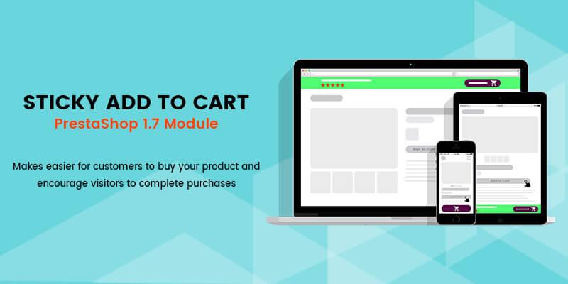 Sticky Add to Cart PrestaShop Module