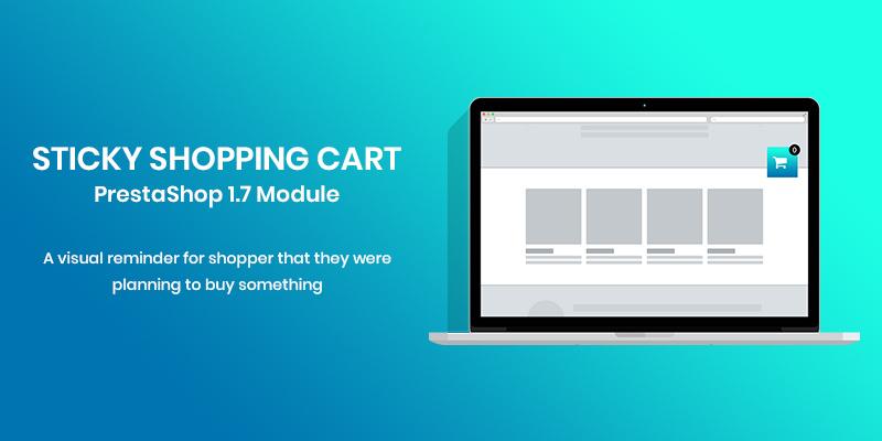 Sticky Shopping Cart PrestaShop Module