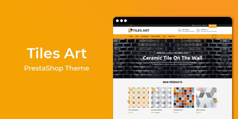 Tiles Art - Online Tiles Responsive Prestashop Theme