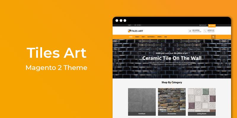 Tiles Art – Multipurpose Responsive Magento 2 Theme