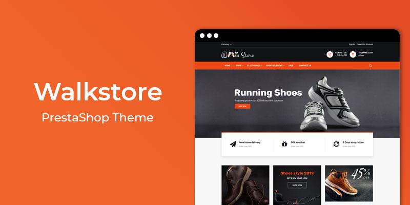 Walkstore - Premium Fashion Accessories Prestashop Theme