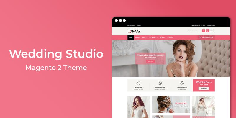 Wedding Studio - MultiPurpose Responsive Magento 2 Theme