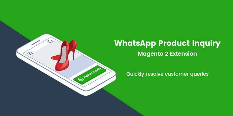 WhatsApp Product Inquiry Magento 2 Extension
