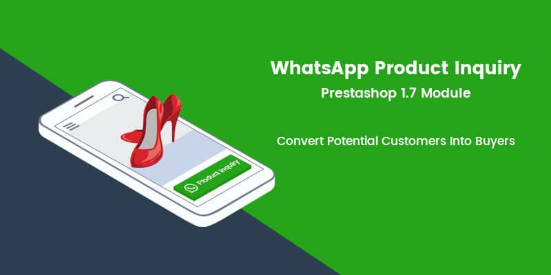 WhatsApp Product Inquiry Prestashop Module