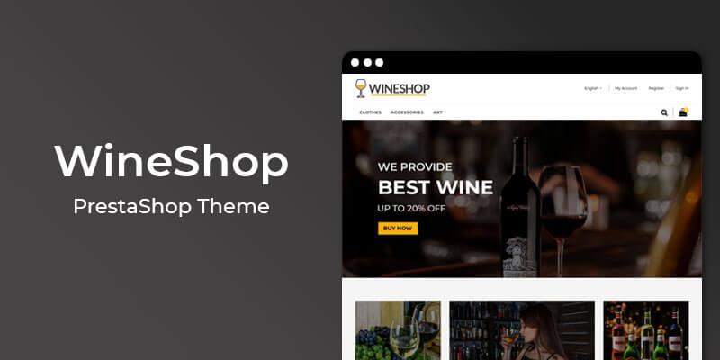 WineShop - Premium Wine Store Prestashop Theme