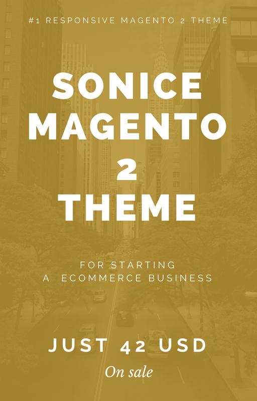 Sonice Magento 2 Theme - Hiddentechies