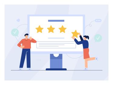 Get Customer Reviews on Google