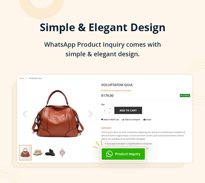 Simple & Elegant Design